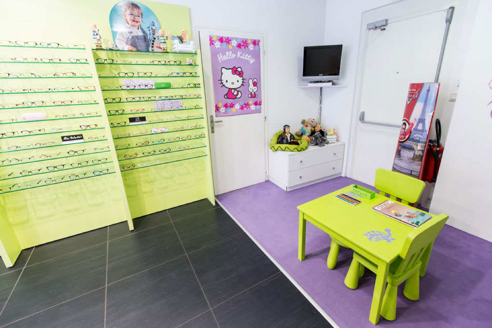 Espace Enfants magasin d'optique