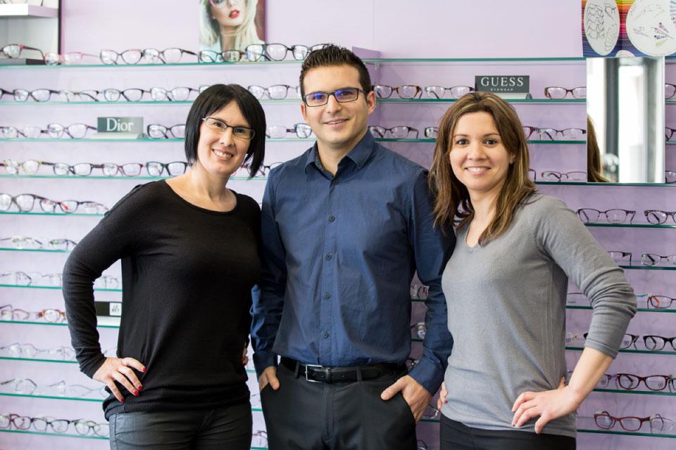 L'équipe Façon de Voir Optique