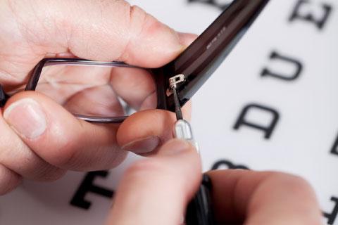 Réparations de lunettes